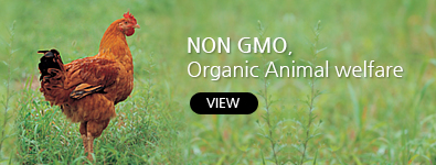 NON GMO, Organic Animal welfare